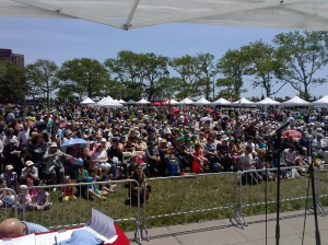"""BIG AUDIENCE COME TO THE 13th ANNUAL RUSSIAN HERITAGE CONCERT TO WATCH """"LATIN FIESTA"""" PERFORMANCE."""
